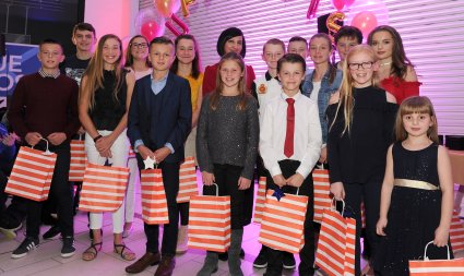 The finalists for Super Sports Star at the Doncaster Free Press Superkids.
